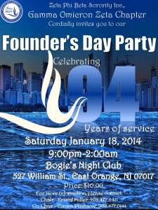 ZetaPhiBEta founder day nj